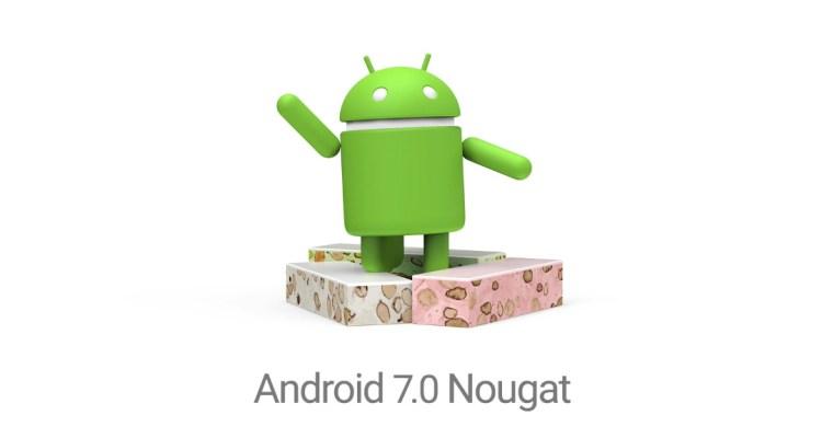 شركة قوقل طرحت صفحة نظام Android 7.0 Nougat