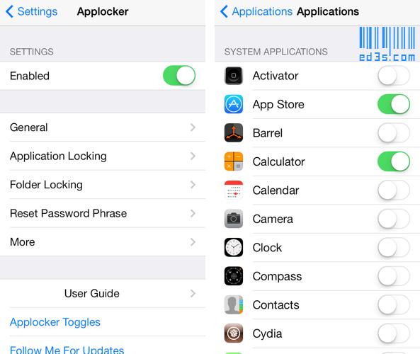 اداة Applocker اغلاق التطبيقات برقم سري للايفون
