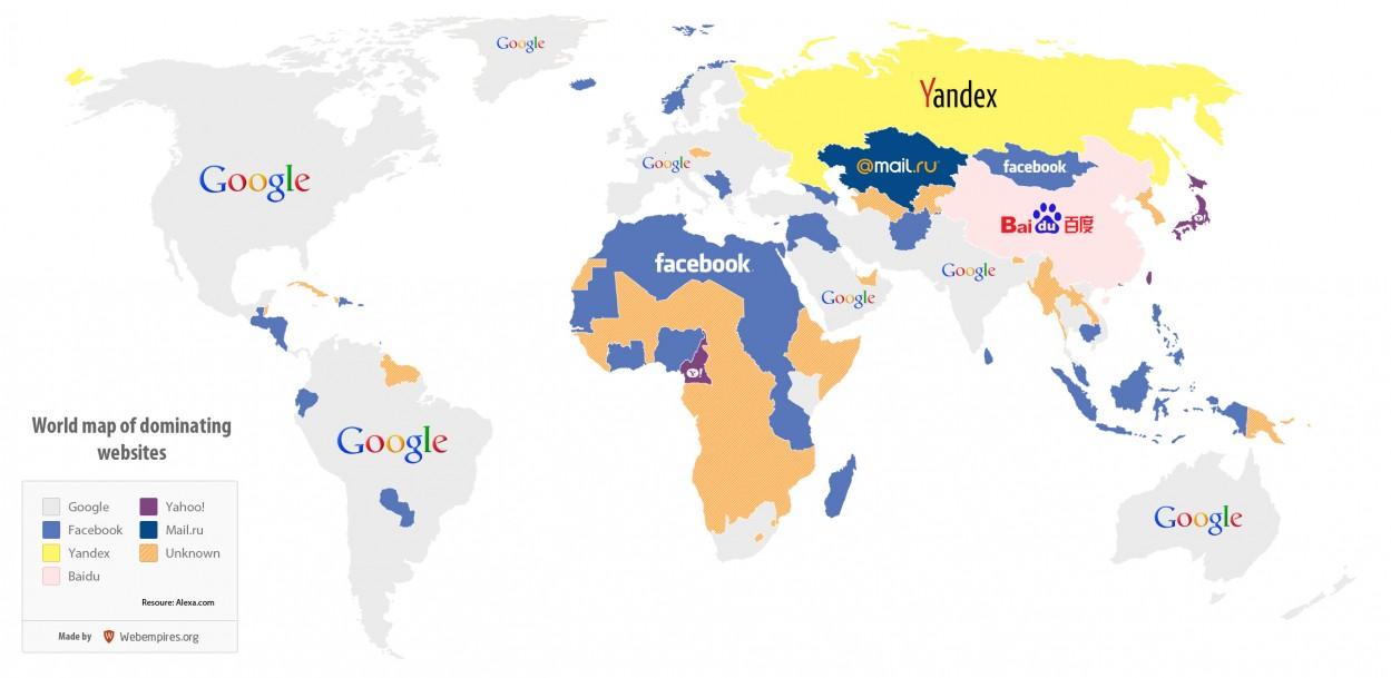 Photo of خريطة العالم العنكبوتية