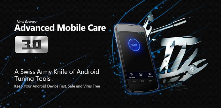 تطبيق Advanced Mobile Care للعناية بجهازك