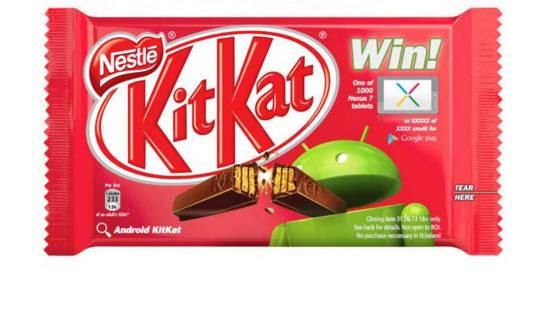 كيت كات KitKat الاسم المقرر للاندرويد 4.4 القادم