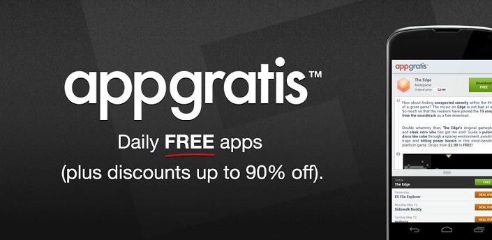 تطبيق AppGratis افضل العروض والخصومات في الاندرويد