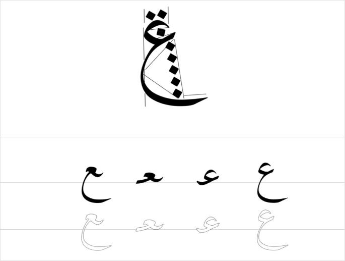 موقع لتعليم الخط العربي وبعدة لغات