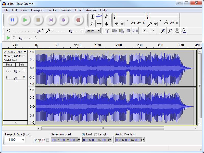 Audacity برنامج تسجيل وتحرير ملفات الصوت