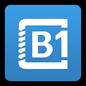 تطبيق B1 ادارة وفك ضغط الملفات للاندرويد