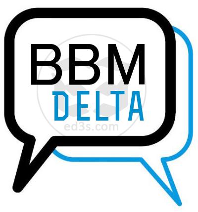 تحميل BBM Delta 4.2.1 مميزات بي بي ام بلس