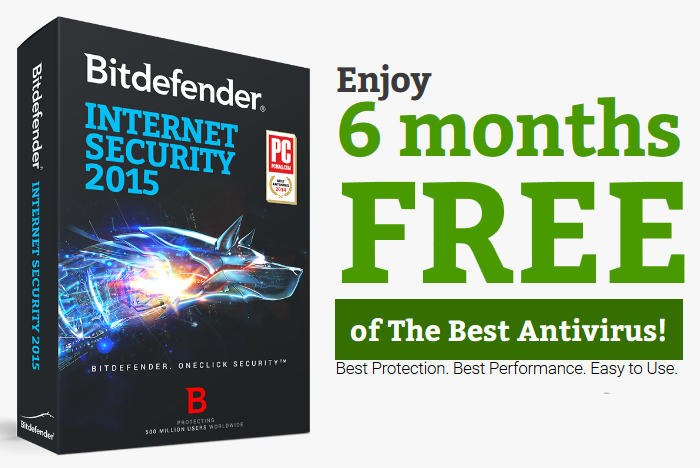 ترخيص Bitdefender Internet Security 2015 مجاني