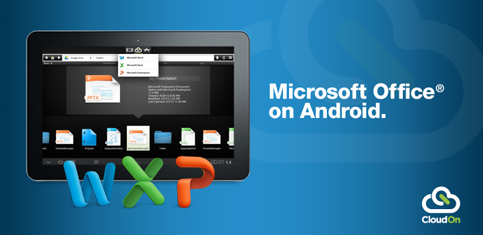 cloudon-microsoft-office-on-android