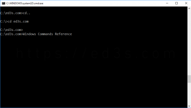 Photo of تحميل كتاب مرجع اوامر ويندوز Windows Commands Reference