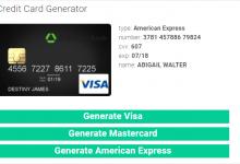 Photo of كيفية الحصول على بطاقة فيزا Credit Card وهمية