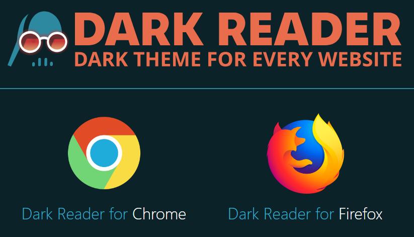 اضافة Dark Reader الوضع الليلي للفايرفوكس وكروم