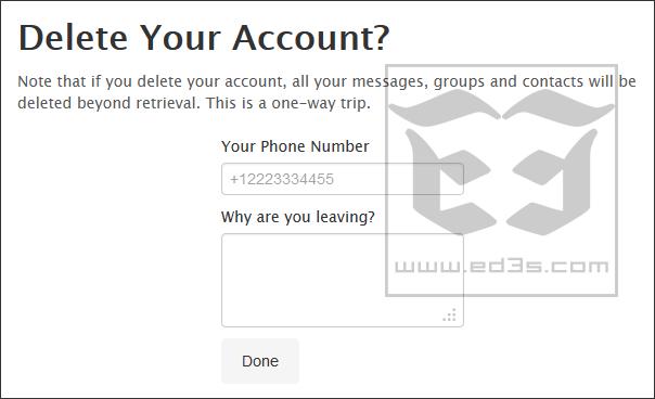 طريقة حذف حسابك من Telegram تلغرام نهائياً