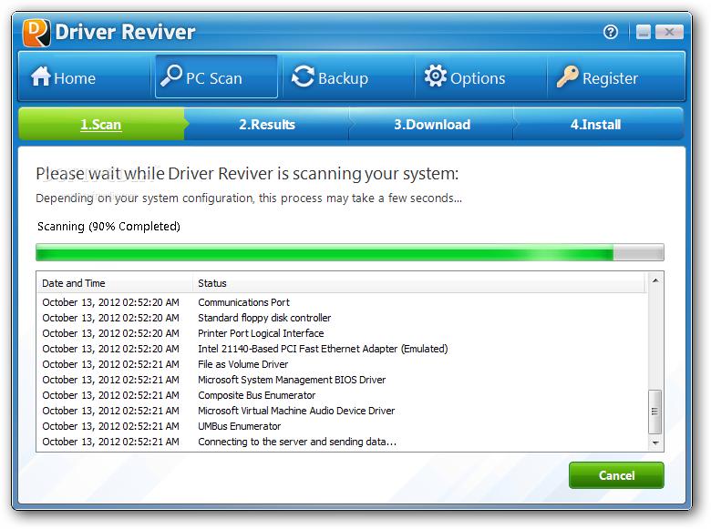 برنامج Driver Reviver تحديث تعريفات كمبيوترك