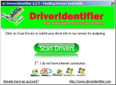 Driver Identifier برنامج البحث عن تعاريف جهازك