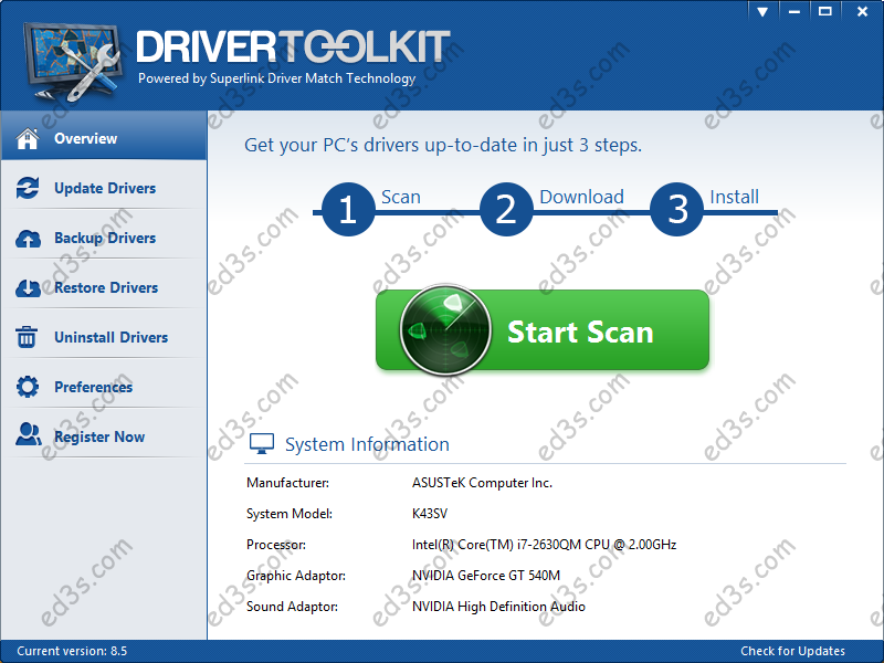 Photo of خدمة Driver Scape كل تعريفات الكمبيوترات بمكان واحد