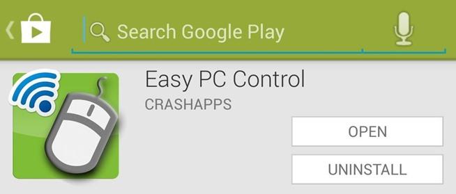 Easy PC Control التحكم بالكمبيوتر عن طريق الاندرويد