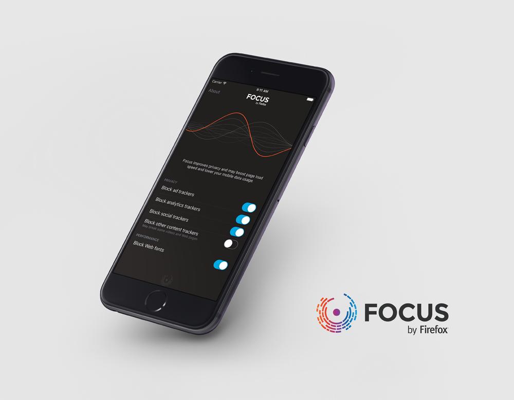 تطبيق Focus من موزيلا حظر الاعلانات للايفون