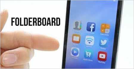 اداة FolderBoard فتح المجلدات ملئ شاشة الايفون