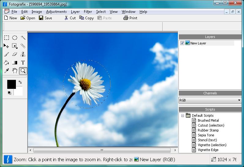 برنامج Fotografix شبيه الفوتوشوب في تحرير الصور