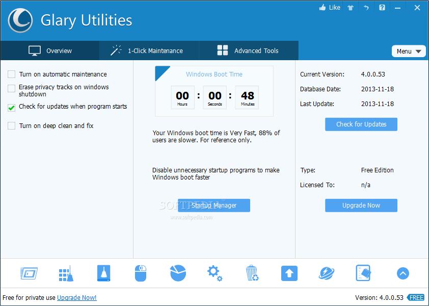 Photo of برنامج تسريع الكمبيوتر وصيانته Glary Utilities