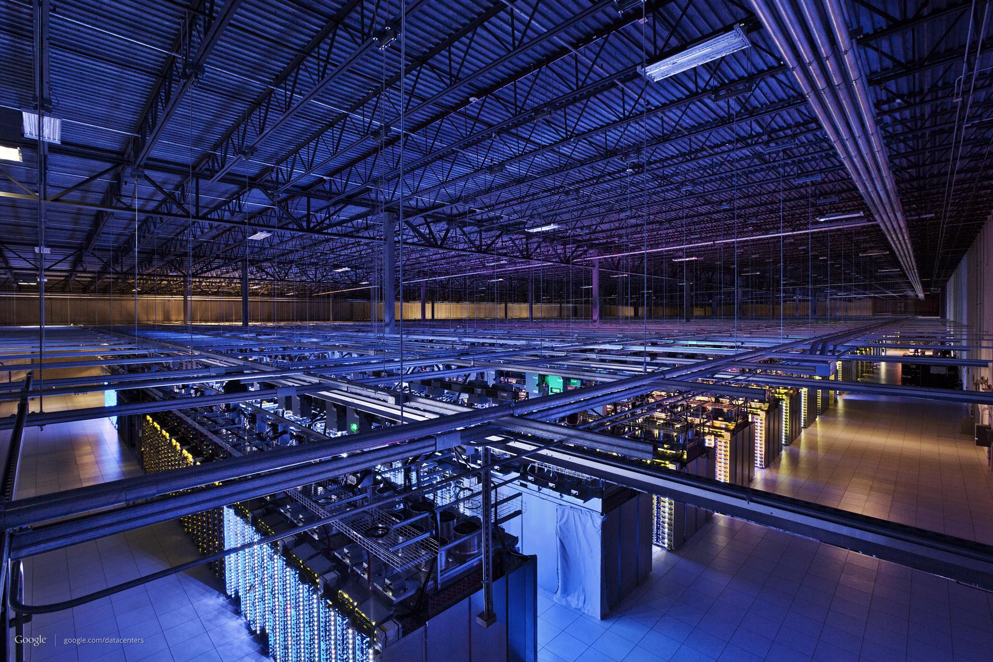 Photo of مركز بيانات قوقل Google Data Centers