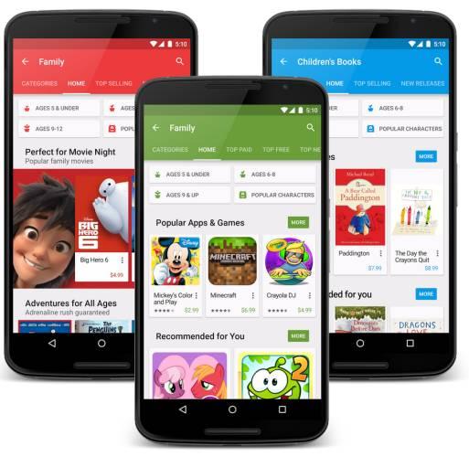 Google Play Family متجر قوقل للعائلة متاح الآن