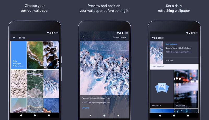 Photo of تطبيق الخلفيات Google Wallpapers من قوقل
