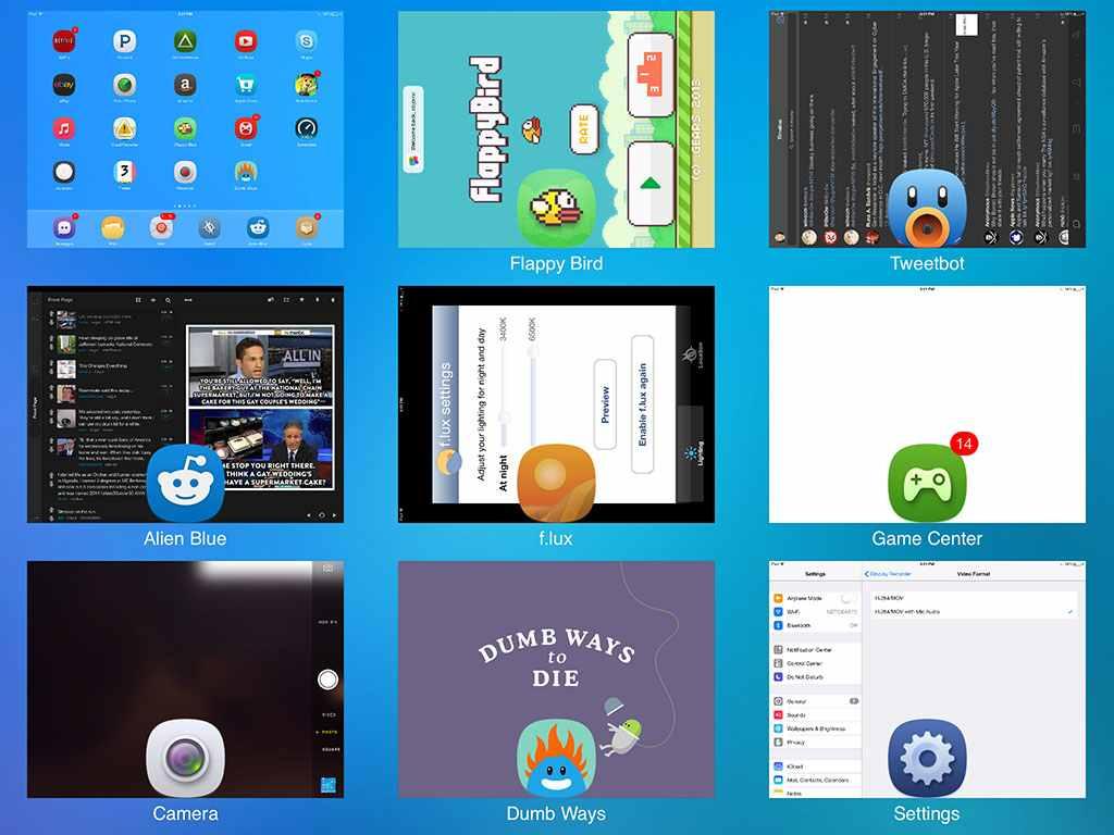 افضل ادوات السيديا iOS7 لعرض التطبيقات في الخلفية بطريقة رائعة