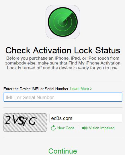 شركة آبل تطلق اداة التحقق من تنشيط قفل iCloud