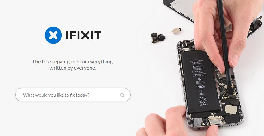 موقع IFIXIT قطع غيار للاجهزة وشروحات لطرق الصيانة