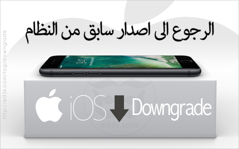 how to Downgrade iOS