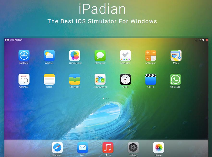 برنامج iPadian تشغيل نظام iOS على ويندوز