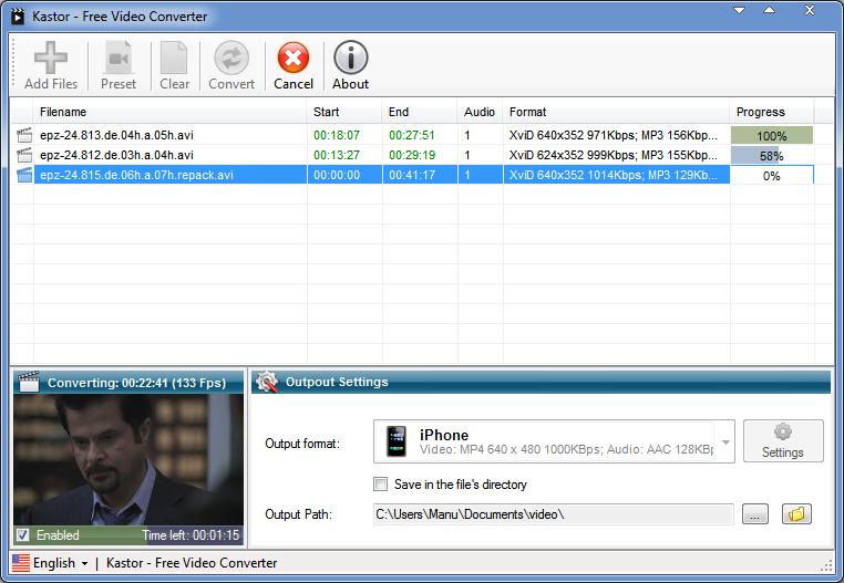 Photo of برنامج Kastor Video Converter تحويل الفيديو من صيغة لأخرى