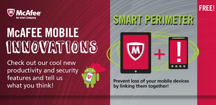 تطبيق McAfee Security Innovations لحماية الاندرويد