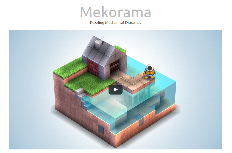 لعبة Mekorama على الاندرويد والايفون