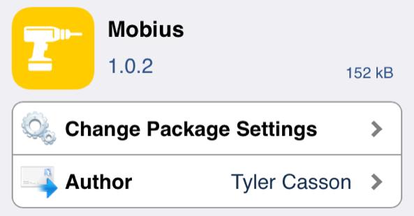 اداة Mobius تمرير الصفحات بدون توقف في الايفون