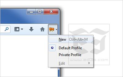 Multifox اضافة فايرفوكس تمكنك من الدخول بأكثر من حساب في نفس الموقع