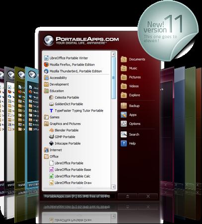 Photo of PortableApps صناعة البرامج المحمولة على فلاش USB