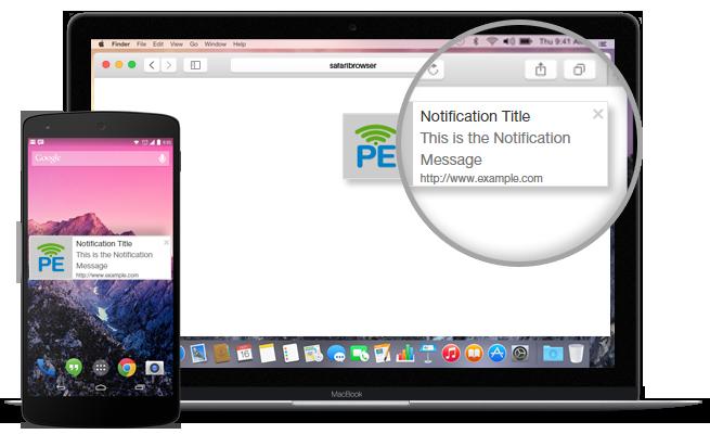 خدمات Push Notification ارسال تنبيهات لزوار موقعك