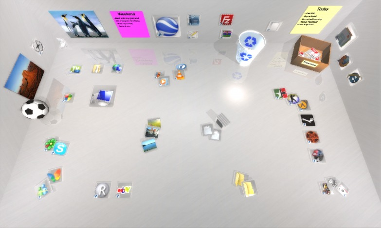 Photo of سطح المكتب ثلاثي الابعاد مع Real Desktop