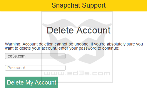 how to delete snapchat account temporarily