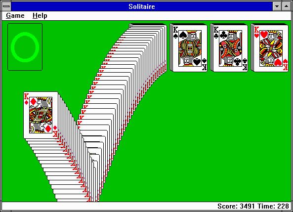 لعبة سوليتر Solitaire تعود في ويندوز 10