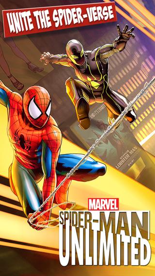 تحميل لعبة Spider-Man Unlimited باللغة العربية
