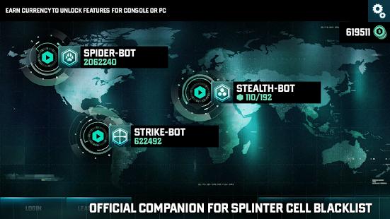 لعبة Splinter Cell Blacklist  للجالكسي والايفون