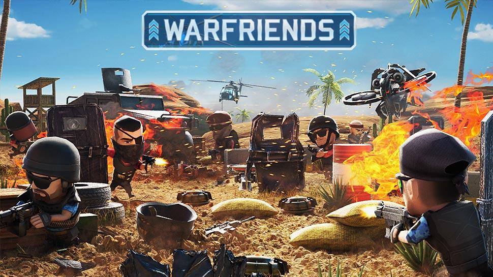 تحميل لعبة WarFriends على الايفون والاندرويد
