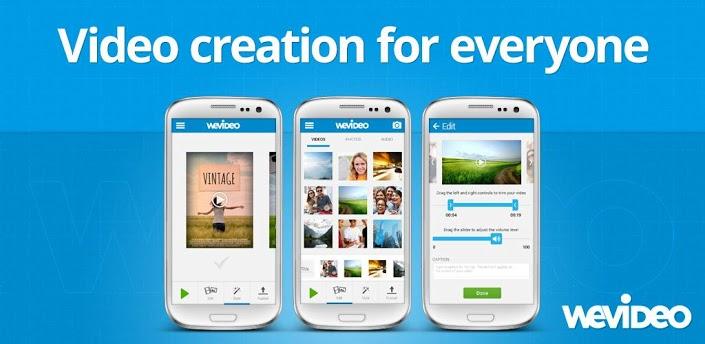 WeVideo تحرير واعداد الفيديوهات بشكل احترافي