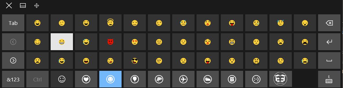 Photo of كيفية اظهار لوحة الرموز التعبيرية Emoji والفيسات في ويندوز 10