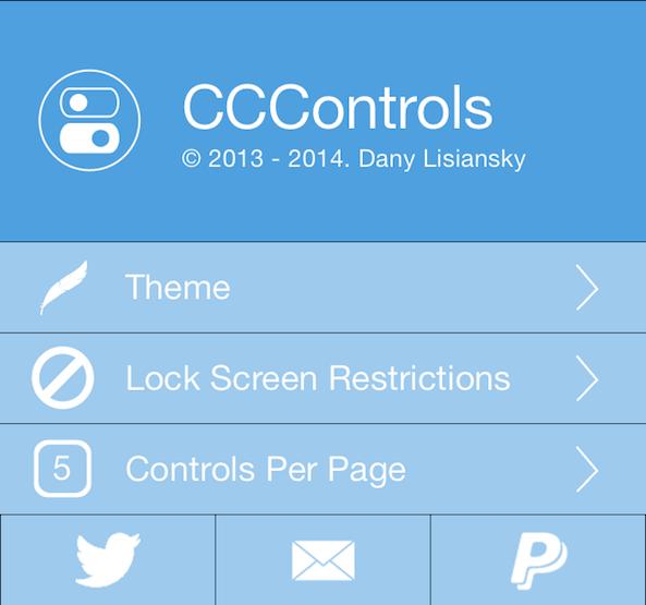 Photo of اداة CCControls تعديل مركز التحكم بالايفون