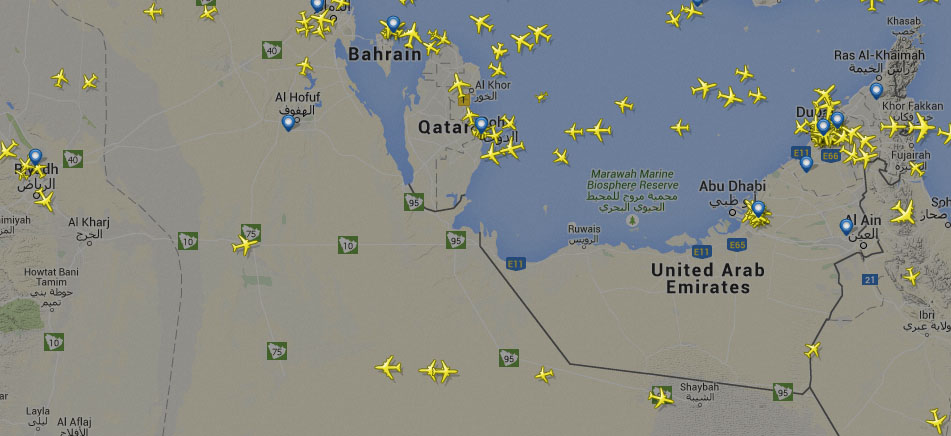 Photo of موقع Flightradar24 رادار للطائرات التي تحلق الآن
