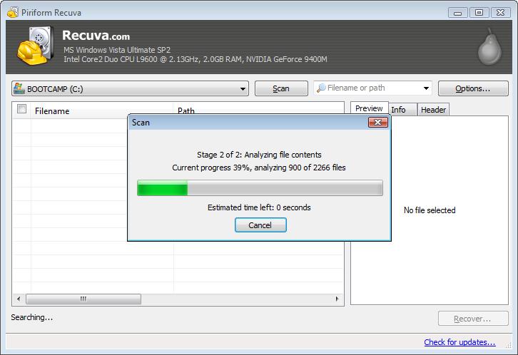 Photo of Recuva برنامج استعادة الملفات المحذوفة المجاني